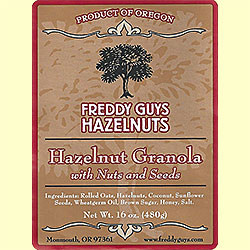 hazelnut granola freddy guys