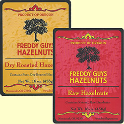 Sampler of Dry Roast and Raw hazelnuts