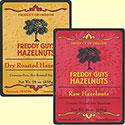 Sampler of Dry Roast and Raw hazelnuts
