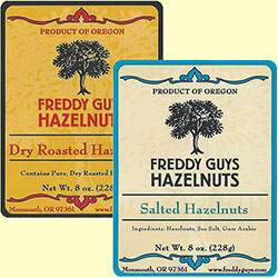 Dry Roasted and Salted Combination Hazlenuts